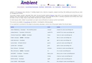 Ambient Homepage